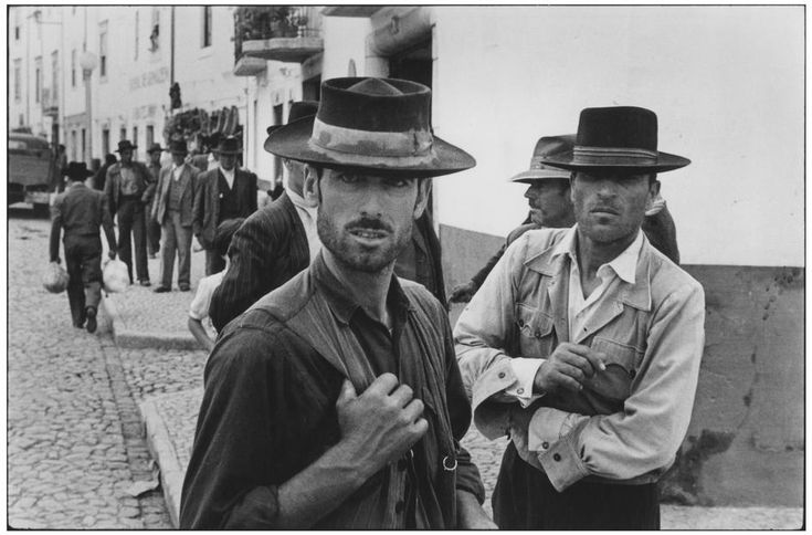 Portugal. Alentejo. Estremoz. 1955. Market day by Henri Cartier-Bresson
