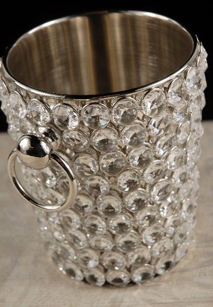 Diamond Crystal Champagne Bucket $61 each / 2 for $52 each