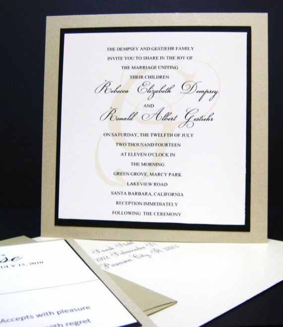 110 best Trendy Wedding Stationery images on Pinterest Trendy