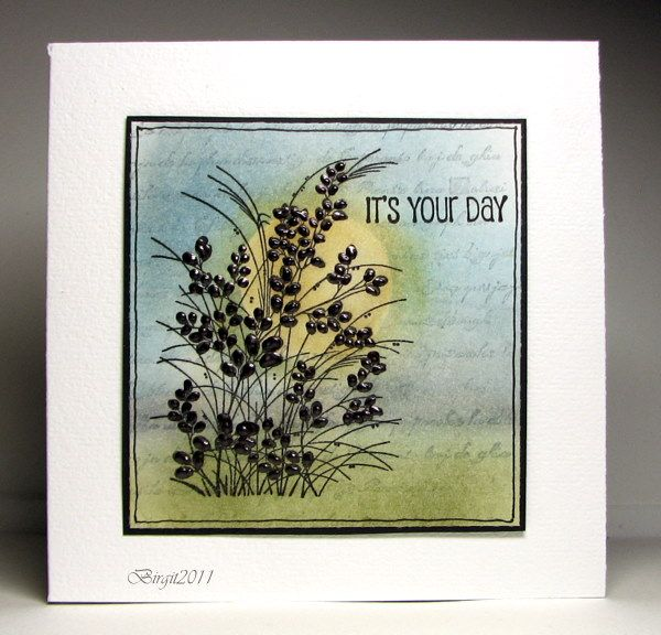 FS255 It´s your day by Biggan - Cards and Paper Crafts at Splitcoaststampers