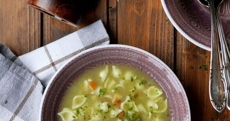 Experimente aus meiner Küche: Gemüse-Nudel-Suppe, Suppe, Nudelsuppe, Gemüsesuppe, Muschelsuppe, Kohlrabi, Pastinake, Möhren, vegetarisch, Schnell, Kochen, Feierabendküche