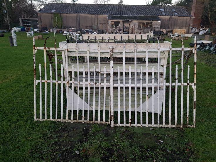 Gates for sale - www.eurosalve.com - #gates #gate #farm #entrance #home #driveway #salvage #salvageireland #kilkennyarchitecturalsalvage #kilkennysalvage #eurosalve #antiques #antique #castiron #whitegates #vintage #junkyard #kilkenny #old #beautiful #rustic #ireland #eire #landscape