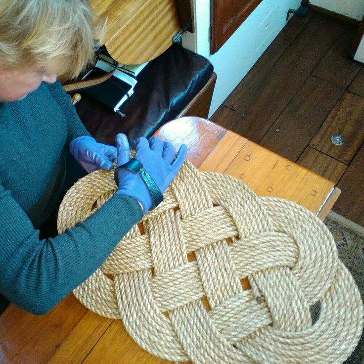 13 Best Nautical Rope Mats Amp Rugs Images On Pinterest