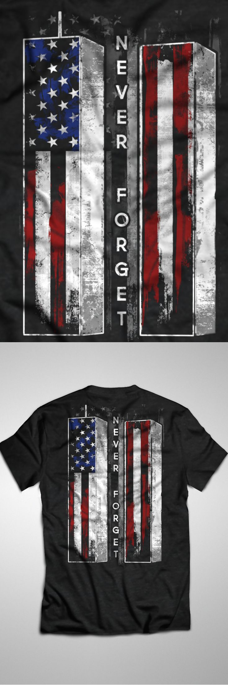 Honoring the 15th Anniversary of September 11th - Limited Edition. Only 2 days left for FREE SHIPPING, grab yours or gift it to a friend. You will both love it!