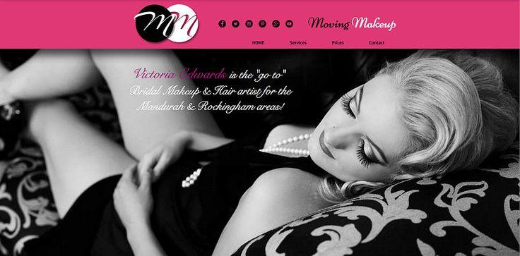 Web Design - Mobile Makeup site