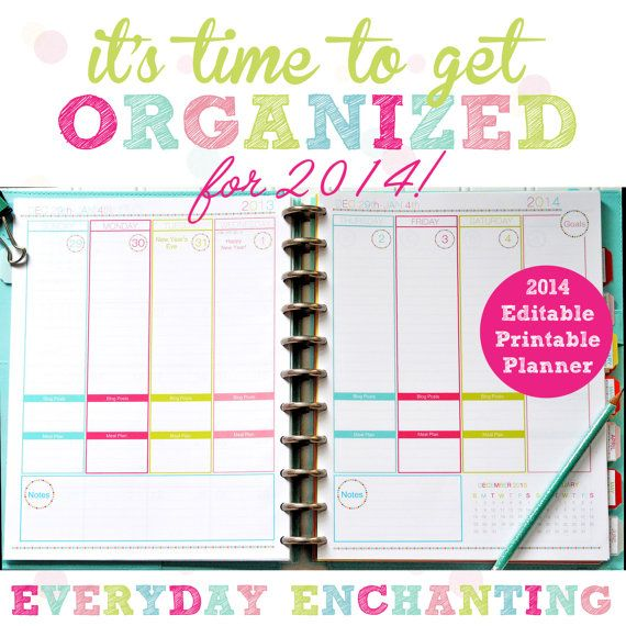 17 Best ideas about Daily Planner Pdf on Pinterest | Planner pdf ...