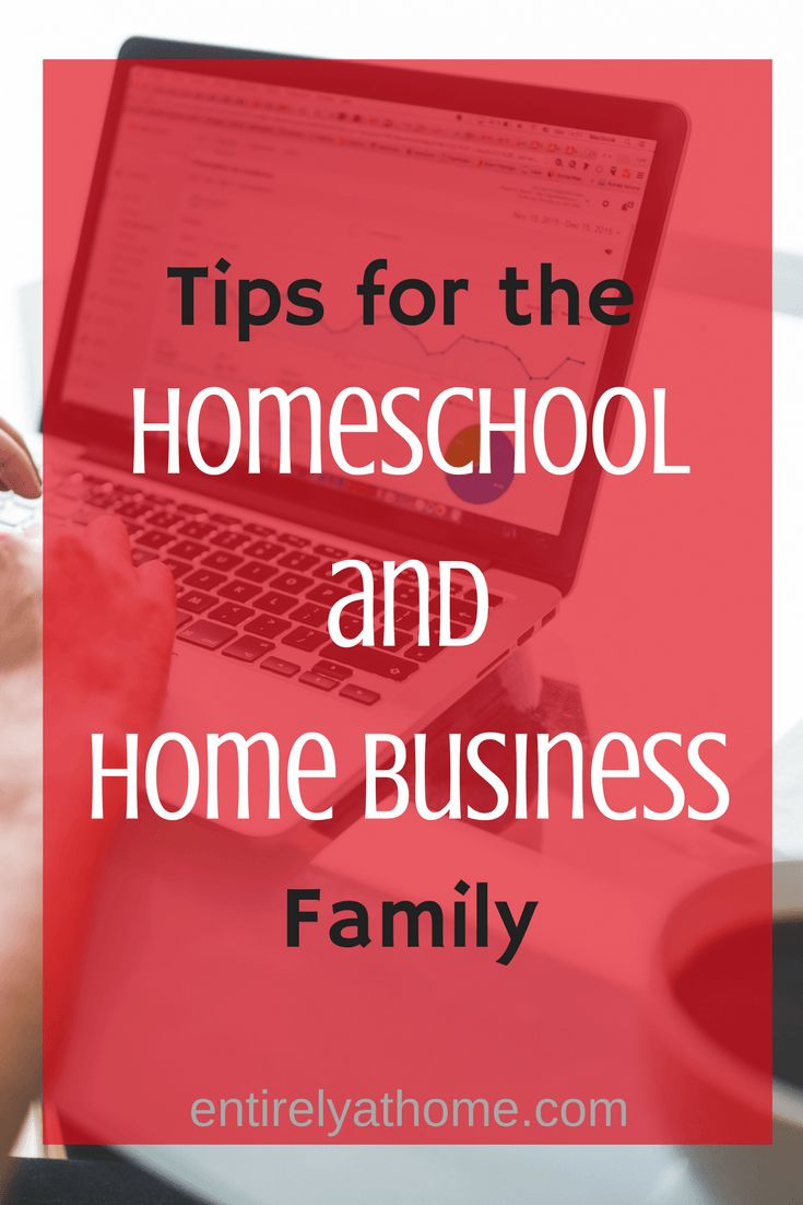 Are you overwhelmed trying to manage you work at home and homeschool schedule? Click for some tips to see how you can make it work!