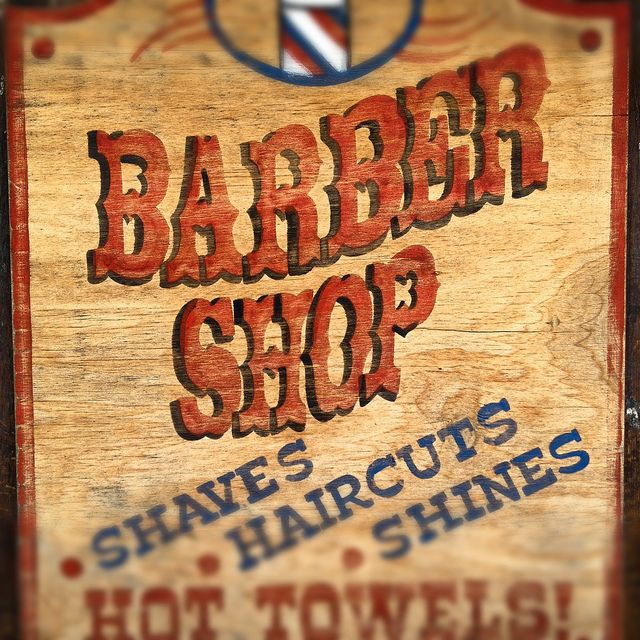 Perfect 159 best Barber Shop Signs images on Pinterest | Barber shop  MQ83