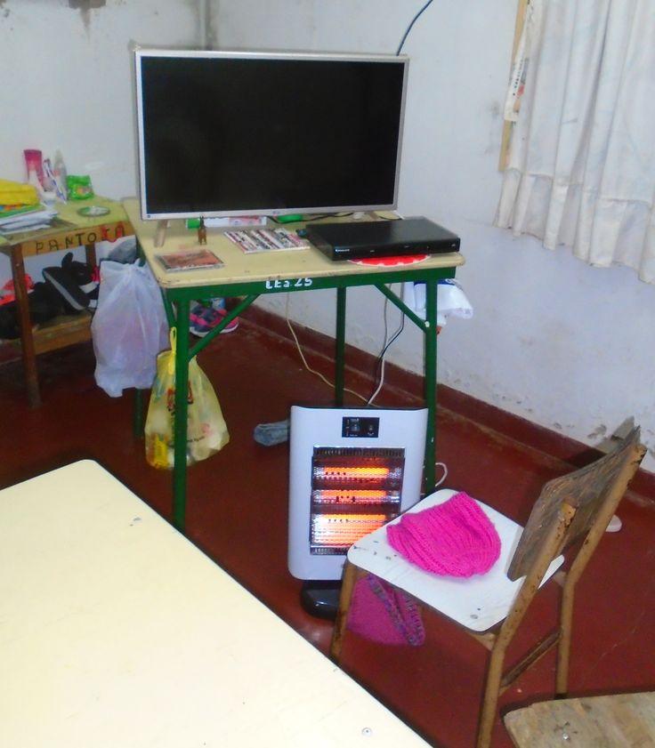 El Gobierno de Jujuy difundió las fotos para desmentir las denuncias de la Tupac Amaru sobre las malas condiciones de detención.