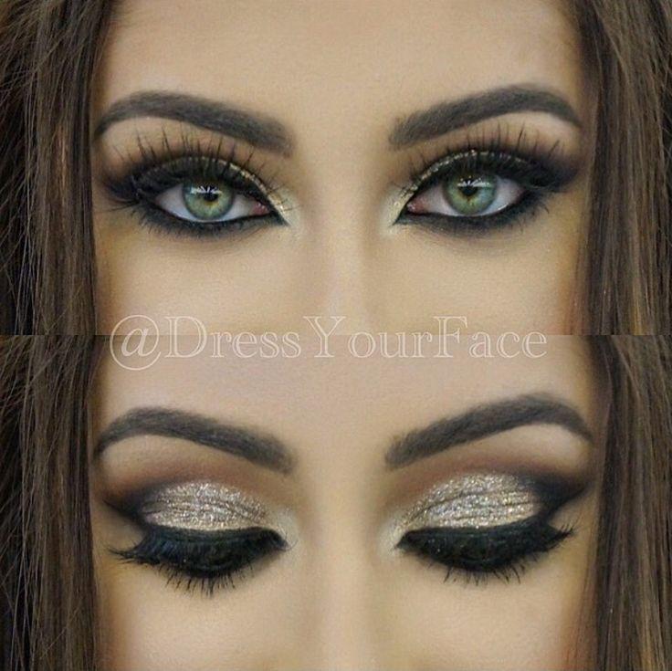 Wedding Eye Makeup Hooded Eyes : De 25+ bedste ideer inden for Hooded eyes p? Pinterest