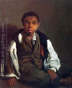 The Black Boy, 1844  by William Lindsay Windus
