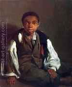 The Black Boy, 1844  by William Lindsay Windus