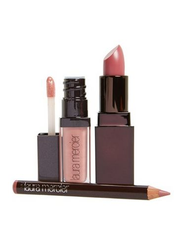 """for the prettiest pink link try, """"Pout Perfection"""" by Laura Mercier"""