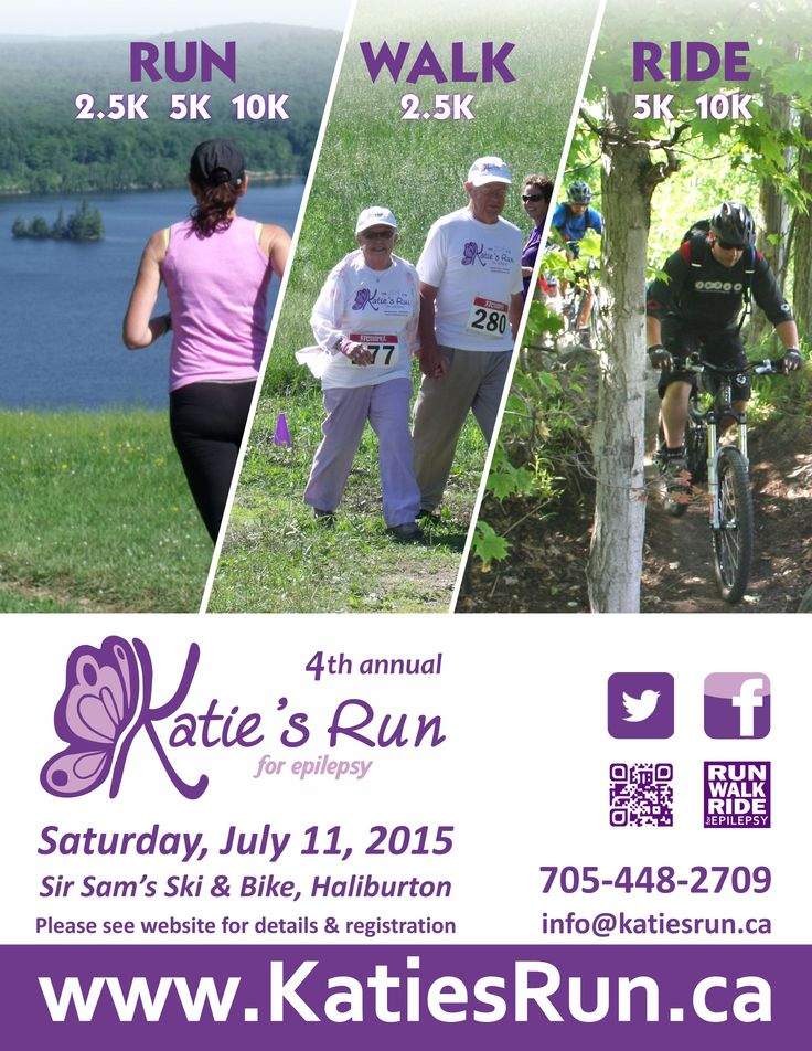 Katie's Run for Epilepsy 2015 Poster