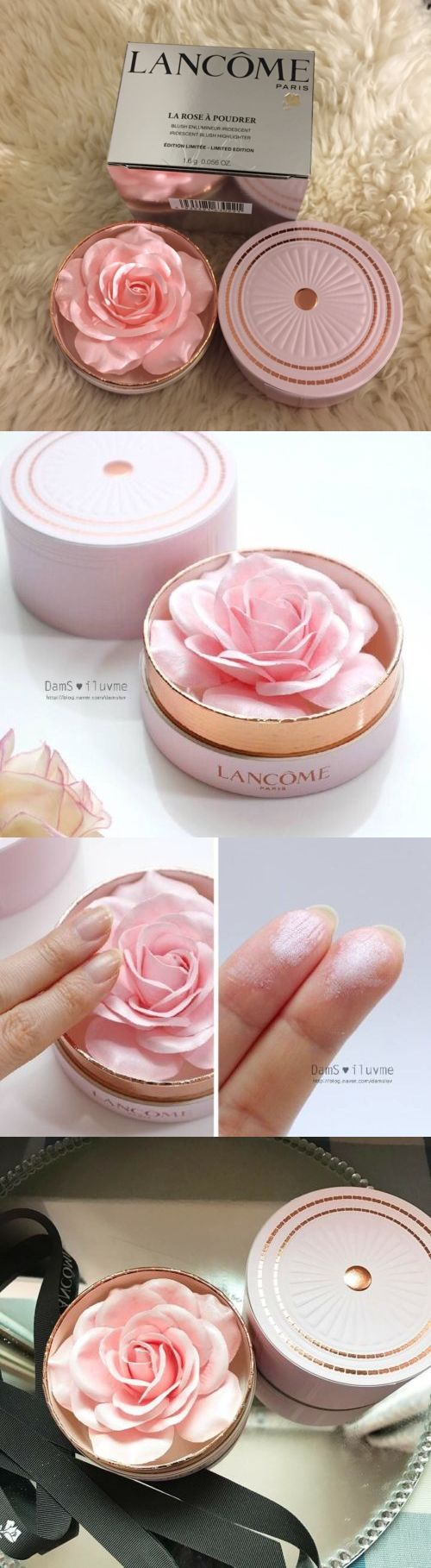 Bronzers and Highlighters: Lancome La Rose Blush Poudrer Spring2017 Limited Edition Ready To Ship BUY IT NOW ONLY: $95.0