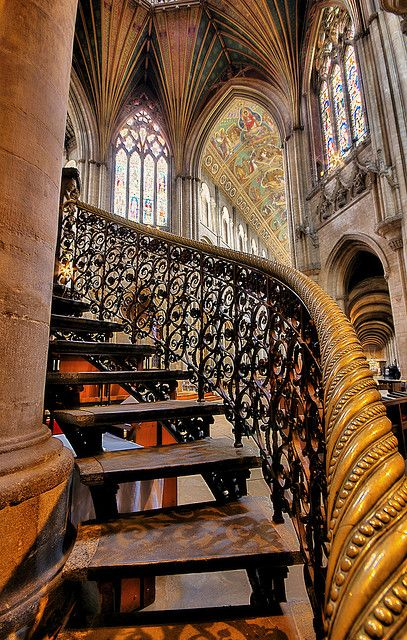 """Ely Cathedral - Cambridgeshire by Nick Garrod on Flickr. """"Ely Cathedral (in full, The Cathedral Church of the Holy and Undivided Trinity of Ely) is the principal church of the Diocese of Ely, in Cambridgeshire, England."""""""