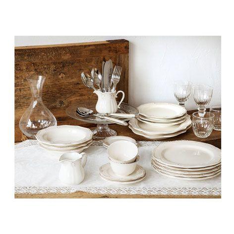 Zastawa stołowa z falistym brzegiem - Zastawy stołowe - Jadalnia | Zara Home Polska