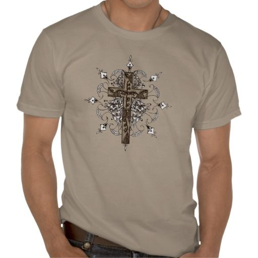 Decorative Cross T-shirt