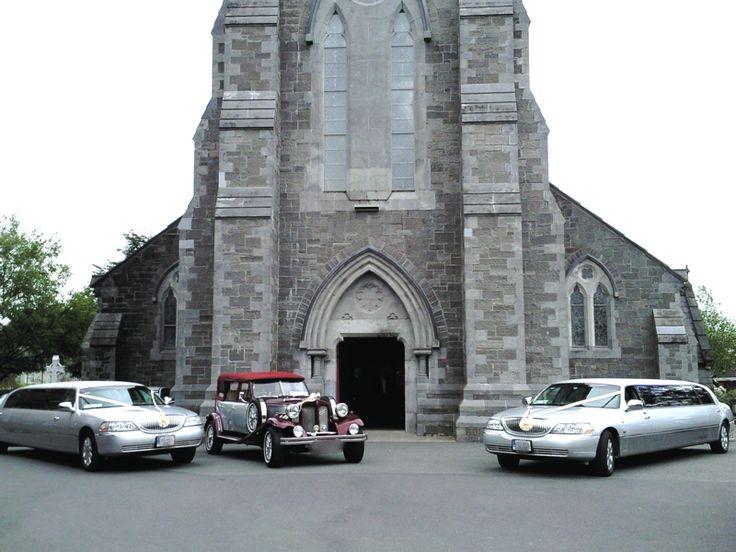 Wine & Silver Beauford Wedding Car http://www.kpcd.ie/wedding-cars.html Silver Wedding Limousines St Coca's Church Kilcock, Kildare http://www.kpcd.ie