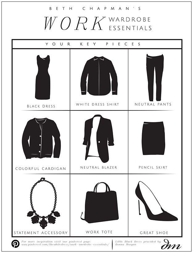 See Beth Chapman's Work Wardrobe Essentials!