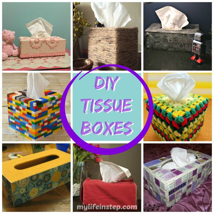 8 easy DIY tissue box covers you can make to Jazz up the rooms in your home