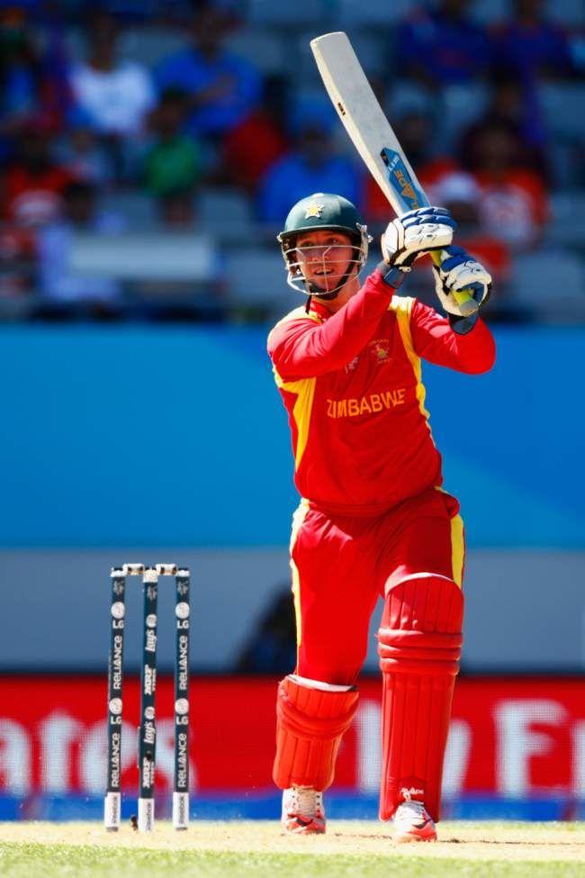 India vs Zimbabwe, 39th Match, Pool B Brendan Taylor led Zimbabwe's fightback for one last time