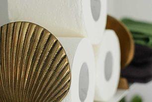Smart och snygg förvaring av toalettpapper – bokstöd