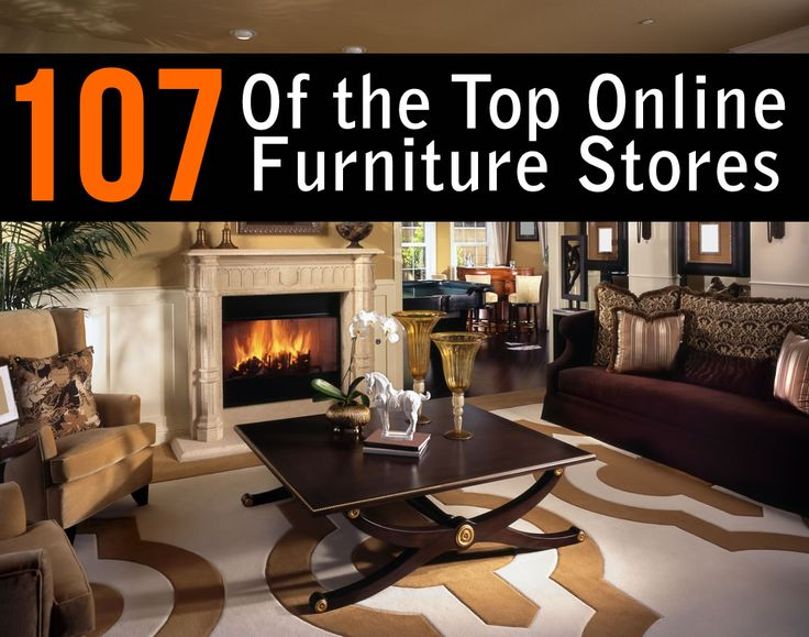 List of the best online furniture stores and retailers.