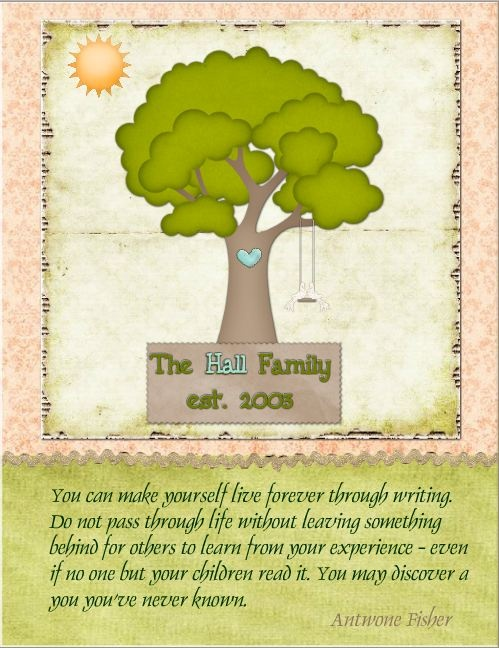 Family tree sampler quote #genealogy