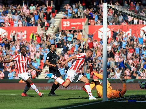 Photos from the Potters' home defeat to Liverpool...
