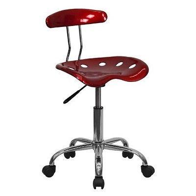 Adjustable-Office-Chair-Seat-Bench-Ergonomic-Stool-Swivel-Computer-Task-Tractor