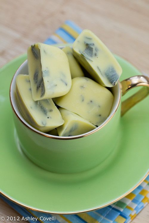 9 Creative Ice Cube Tricks - freeze herbs in olive oil to cook with them later!