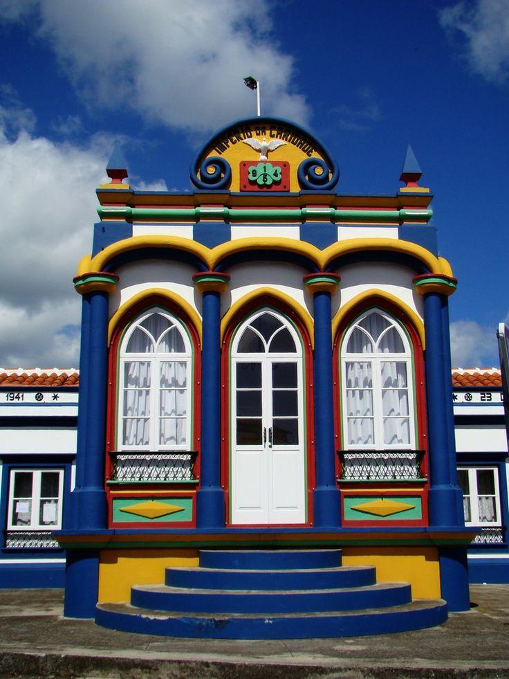 Terceira Island, Azores, Portugal door window