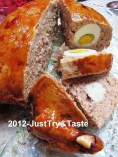 Just Try & Taste: Yuk Membuat Ayam Kodok! | stuffed chicken recipe