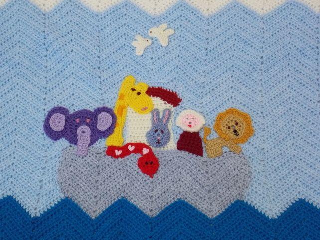 Baby Blanket - Noah's Ark £36.00