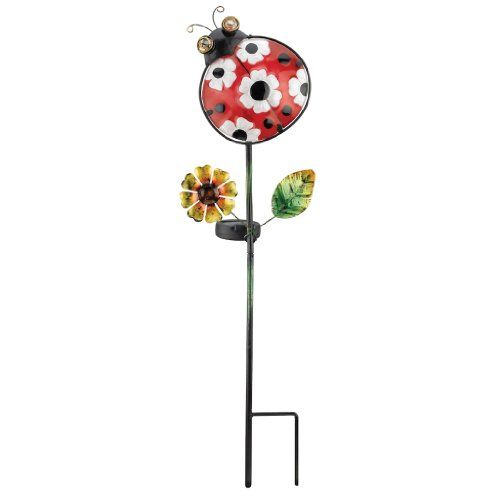 Regal Art And Gift 10548   X Ladybug Garden Stake Solar LED Light * Check  This Awesome Product By Going To The Link At The Image.