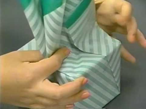 プレゼントの包み方 - おひねり包み