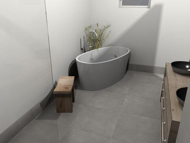 25 beste idee n over stucwerk wanden op pinterest betonmuren - Kamer wit houten bad ...