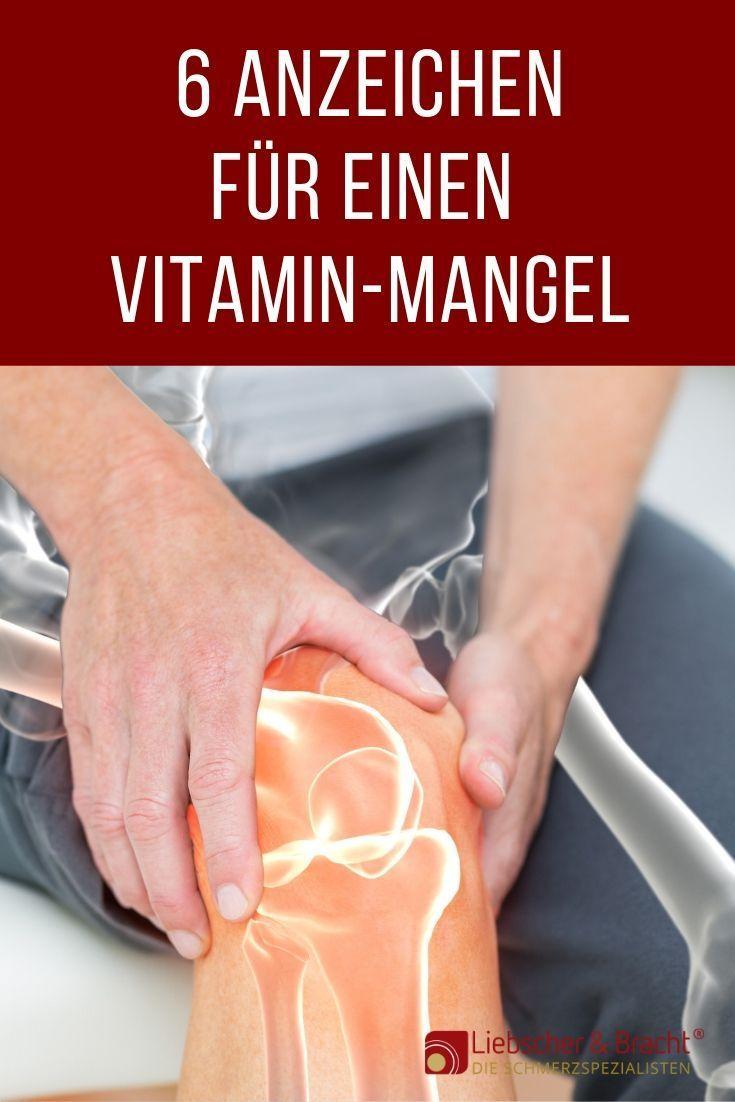 Gelenkschmerzen: Vitamin-Mangel?