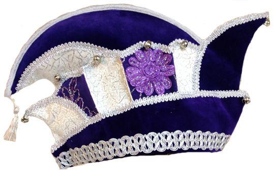 Carnavalssteek. Hoge kwaliteit steken voor prins of raad van 11. Gemaakt in eigen atelier geheel naar wens van kleuren en stoffen.