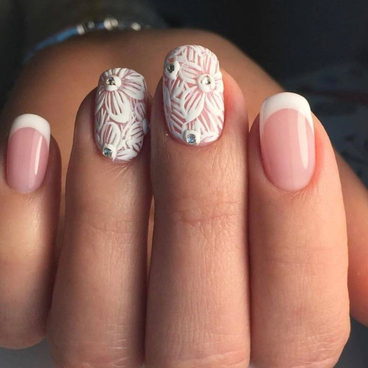 Best 25+ Bridal Nail Art Ideas On Pinterest