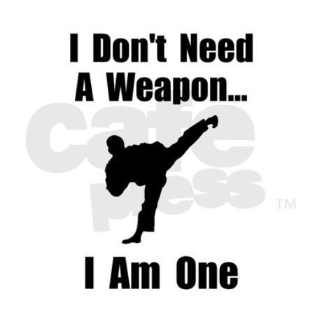Martial Arts Weapon Shirt Jr. Jersey T-Shirt on CafePress.com