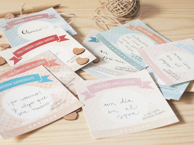 Talonario de vales imprimible para utilizar en San Valentín... ¡O cualquier otro día del año!