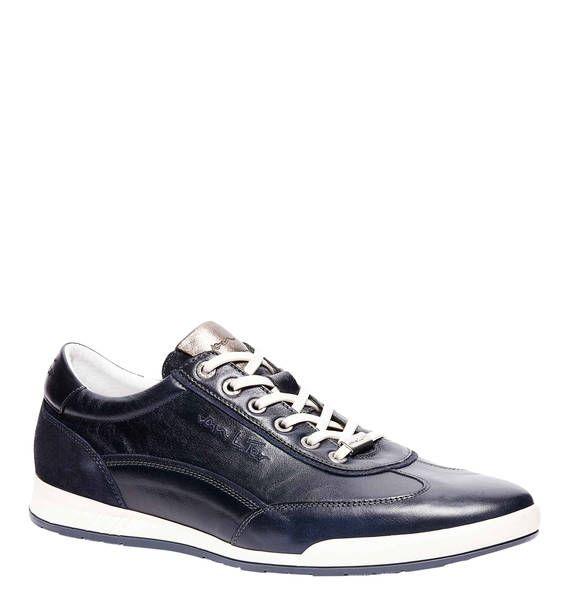 #VAN #LIER #Sneaker, #Leder - Sportliche Sneaker aus einer Leder-Kombi in einem…