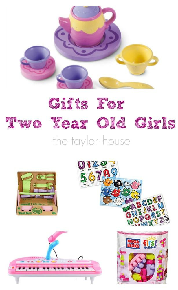 The BEST Gifts for Two Year Old Girls