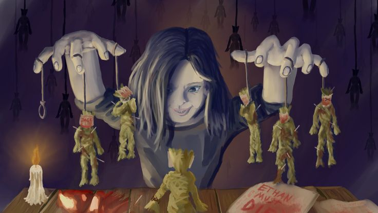 Resident Evil 7 - Eveline's family game by frylander1 on DeviantArt
