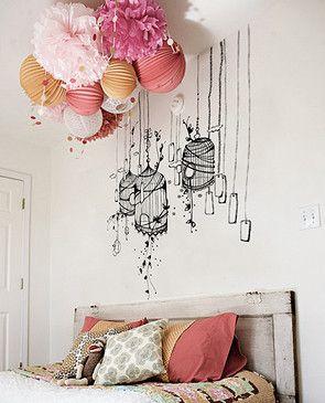 17 images propos de dessins de mode sur pinterest coiffures croquis et - Decoration des mures ...