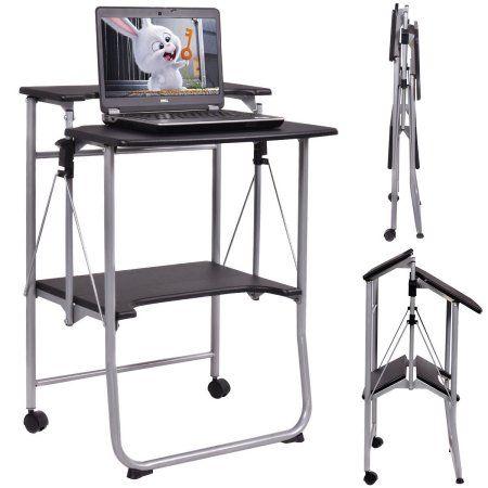 Foldaway Computer Desk The Foldaway Desk Hammacher