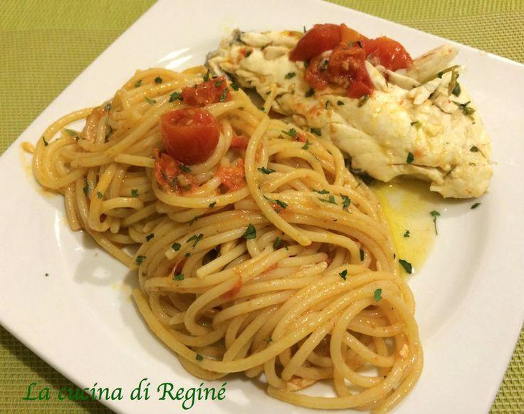 Spaghetti acqua pazza, primo piatto di mare dell'antica tradizione napoletana, bello da vedere buono da mangiare, da provare