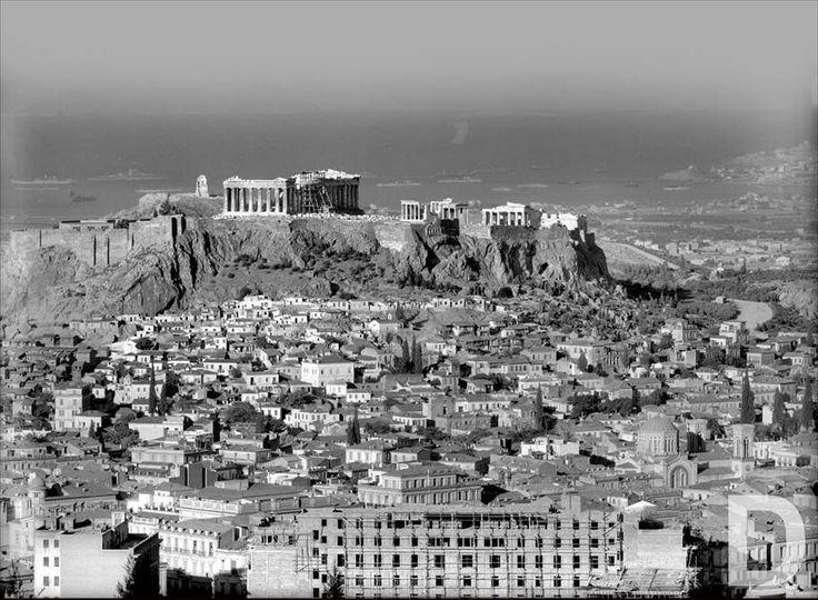 1929 ~ The Acropolis of Athens